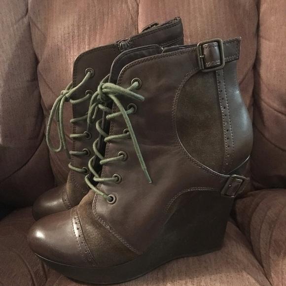 Gianni Bini Shoes - Gianni Bini Wedge Booties
